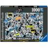 PUZZLE 1000 PEZZI BATMAN CHALLENGE Ravensburger 16513 ORIGINALE softclick 70x50cm
