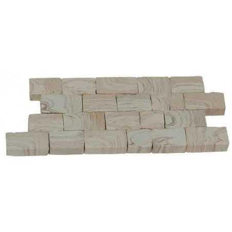 Confezione da 2000 mattoni in ceramica pietramuro Aedes Ars AS 22311