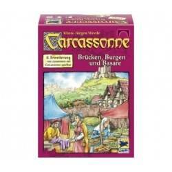 Carcassonne: Basare, Brücken und Burgen