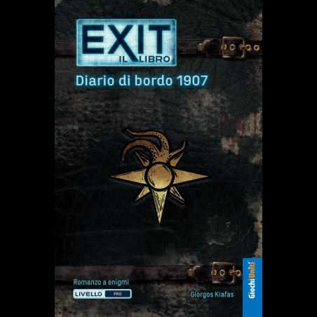 EXIT il libro DIARIO DI BORSO 1907 libro game interattivo in italiano Giochi Uniti