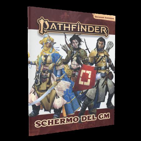 PATHFINDER seconda edizione SCHERMO DEL GM GAME MASTER in italiano Giochi Uniti