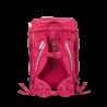 SET scuola ZAINO ERGOBAG CUBO accessoriato HORSESHOEBEAR in materiale riciclato ROSA ergonomico