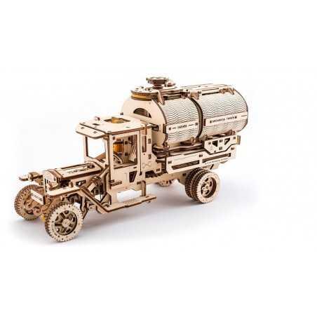 CAMION CISTERNA TANKER in legno UGEARS da montare puzzle 3D 594 pezzi