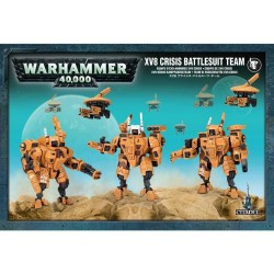 Team di Esoscheletri XV8 Crisis dell'Impero Tau - Warhammer 40.000 56-07 Games Workshop - 1