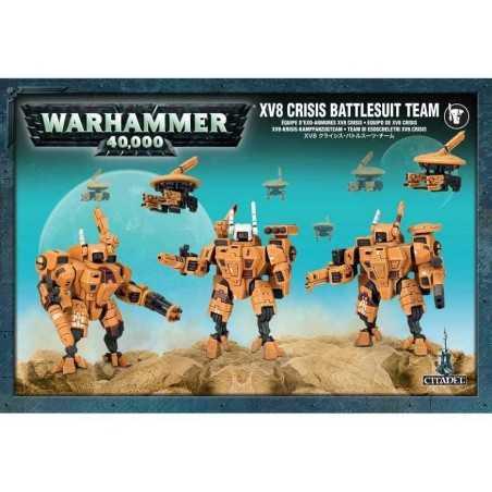 Team di Esoscheletri XV8 Crisis dell'Impero Tau - Warhammer 40.000 56-07 Games Workshop - 1