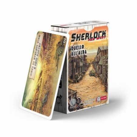 SHERLOCK WEST DUELLO ALL'ALBA gioco di carte investigativo MS Edizioni