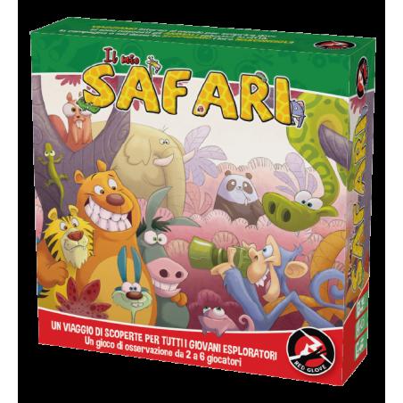 IL MIO SAFARI gioco da tavolo RED GLOVE junior & family IN ITALIANO trova gli animali VELOCE età 4+