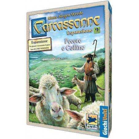 CARCASSONNE PECORE E COLLINE 9a espansione italiano gioco da tavolo