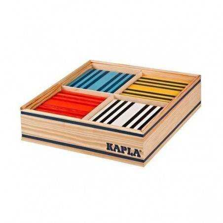 Costruzioni legno KAPLA COLOR 100 pezzi in 8 colori diversi OCTOCOLOR Kapla - 2