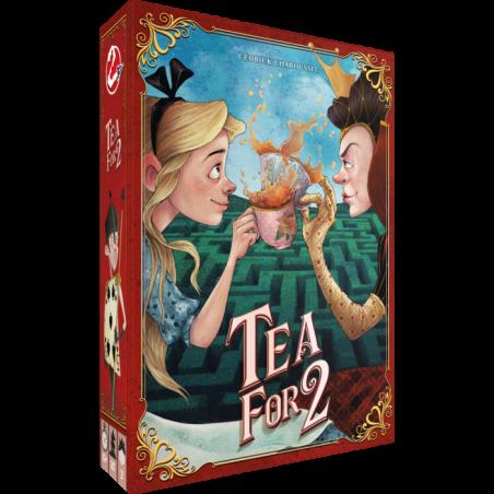 TEA FOR 2 gioco da tavolo in italiano per due giocatori Asmodee Alice nel Paese delle meraviglie
