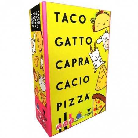 TACO GATTO CAPRA CACIO PIZZA ghenos games PARTY GAME gioco di carte FRENETICO età 8+