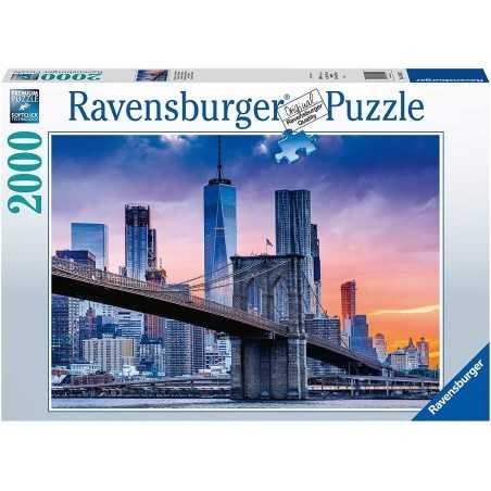 PUZZLE 2000 PEZZI NEW YORK SKYLINE Ravensburger 98 x 75 cm MANHATTAN Ravensburger - 1