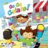 GO GO GELATO party game IN ITALIANO edizione multilingue BLUE ORANGE età 5+