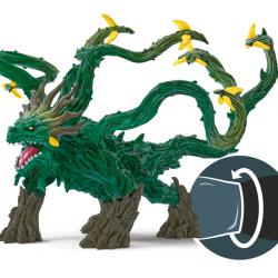 DRAGO DEI GHIACCI con ali snodabili Schleich 70139 Eldrador Creatures Ice Dragon