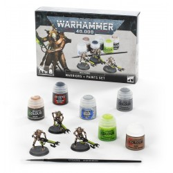 NECRONS WARRIORS PAINTS SET...