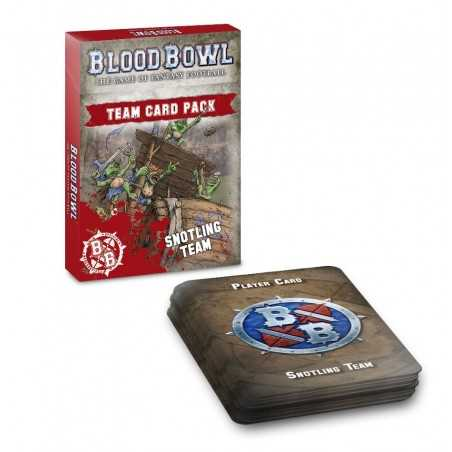 BLOOD BOWL SNOTLING TEAM CARD PACK in English