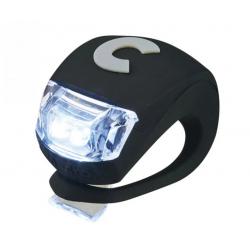 LUCE monopattino LED di sicurezza NERO silicone flessibile MICRO light RESISTENTE ALL'ACQUA tre regolazioni Micro - 1
