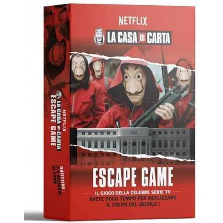 LA CASA DI CARTA Escape Game in italiano MS Edizioni gioco ufficiale Casa de Papel