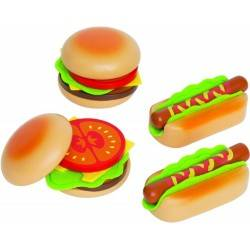 HAMBURGER AND HOTDOG...