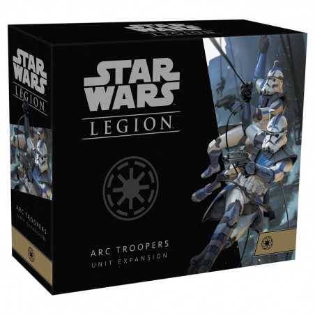 ARC TROOPERS espansione STAR WARS LEGION unit expansion ASMODEE in inglese 7 MINIATURE età 14+