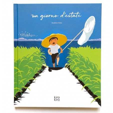 UN GIORNO D'ESTATE libro KOSHIRO HATA kira kira editore ALBO ILLUSTRATO per bambini