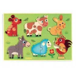 CoUCOU COW 12pc embossed...