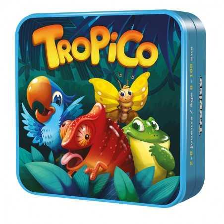 TROPICO party game OLIPHANTE scatola in latta PORTATILE età 8+