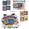 FAMILY GAMES set TANTI GIOCHI in cartone DAL NEGRO classico 4 TABELLONI DOPPI età 6+