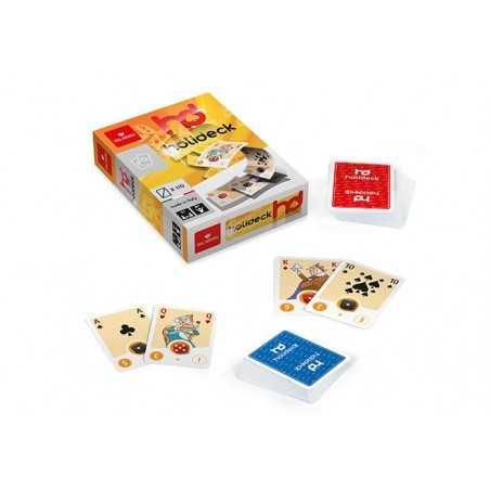 HD gioco di carte HOLIDECK tanti giochi possibili DAL NEGRO età 8+