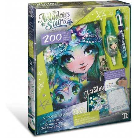 NEBULOUS STARS secret diary DIARIO SEGRETO penne speciali MARINIA kit artistico CON ATTIVITA' età 7+
