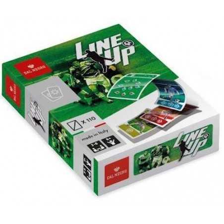 LINE UP gioco di carte DAL NEGRO calcio PARTY GAME età 8+