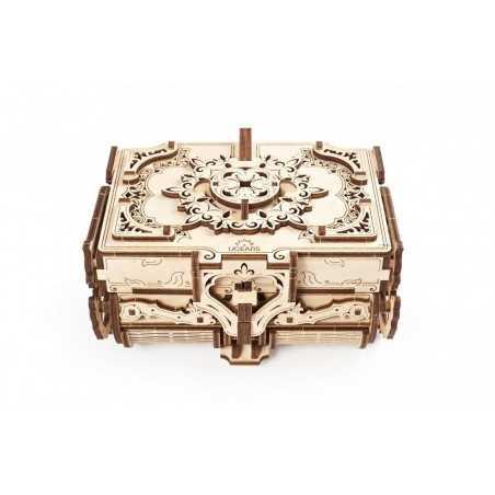 COFANETTO ANTICO antique box UGEARS u gears COSTRUZIONI 3D età 14+