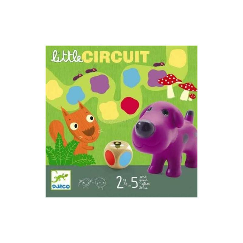 LITTLE CIRCUIT by DJECO semplice gioco di percorso x 2-4 gioc. età 2-5 DJ08550 Djeco - 1