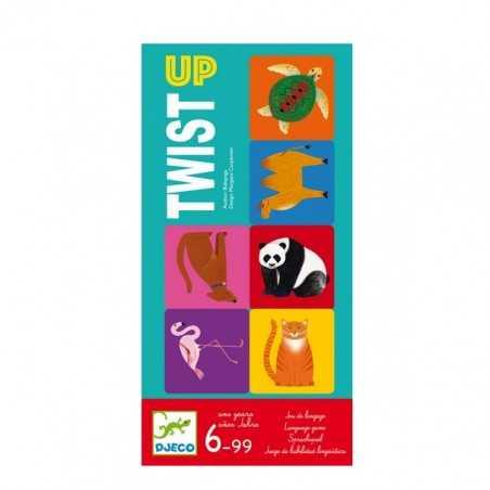 TWIST UP gioco di squadra DJECO carte DJ08541 tessere PARTY GAME età 6+