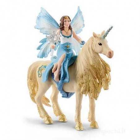 EYELA E L'UNICORNO DORATO schleich BAYALA fantasy 42508 miniature in resina FATE età 5+
