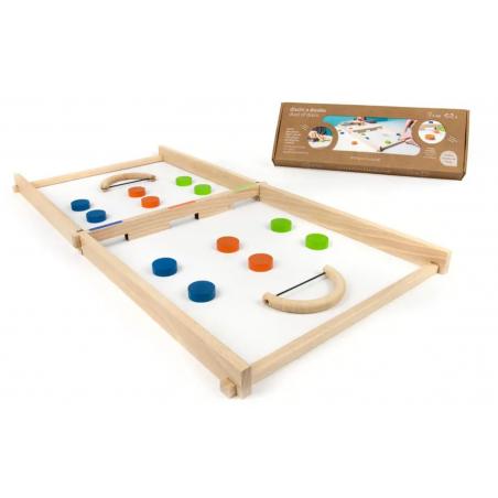 DISCHI A DUELLO duel of discs MILANIWOOD gioco in legno MADE IN ITALY età 5+