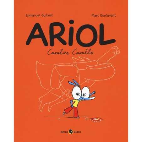 CAVALIER CAVALLO ARIOL libro EMMANUEL GUIBERT becco giallo editore ILLUSTRATO 2018