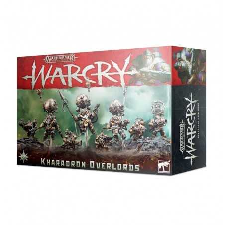 WARCRY KHARADRON OVERLORDS in italiano 8 MINIATURE age of sigmar WARHAMMER citadel GAMES WORKSHOP età 12+