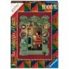PUZZLE ravensburger 1000 PEZZI softclick HARRY POTTER DALLA FAMIGLIA WEASLEY dimensioni 50 x 70 cm