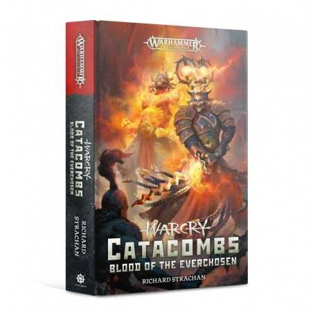 WARCRY CATACOMBS libro BLOOD OF THE EVERCHOSEN richard strachan WARHAMMER in inglese BLACK LIBRARY