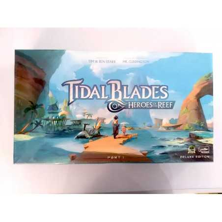 TIBAL BLADES deluxe edition plus ANGLERS COVE expansion Kickstarter