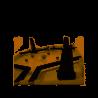 BONK oliphante IN LEGNO gioco di abilità RICOCHET GAME campo da gioco DINAMICO età 8+