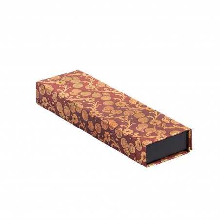 Astuccio multiuso VIRGINIA WOOLF con chiusura magnetica cm 22x6x3 Paperblanks pencil case