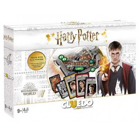 CLUEDO gioco da tavolo HARRY POTTER in italiano HASBRO wizarding world WB età 9+