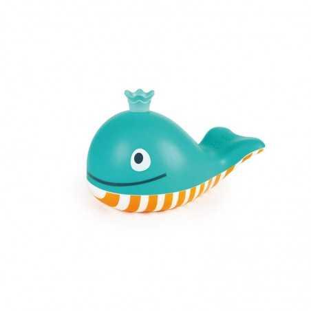 BALENA SOFFIA BOLLE bubble blowing whale BATH TOYS bolle di sapone HAPE età 18 mesi +