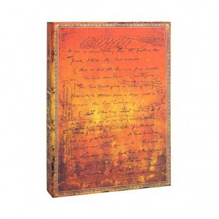 Scatola porta documenti H.G. WELLS 75 anniversario PAPERBLANKS cm 31x23 manoscritti