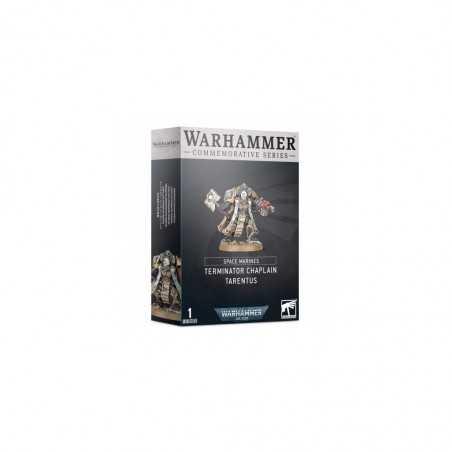 TERMINATOR CHAPLAIN TARENTUS space marines WARHAMMER commemorative series 40K citadel GAMES WORKSHOP età 12+