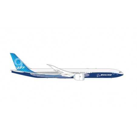 BOEING 777 HOUSE COLORS aereo in plastica 612630 modellino HERPA SNAP FIT scala 1:250 da montare SENZA COLLA