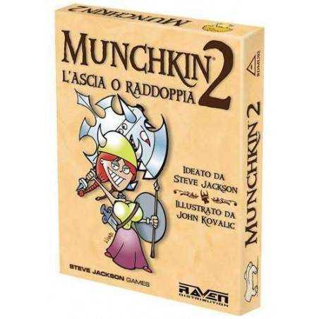 Munchkin 2 L'Ascia o raddoppia! Nuova edizione - Espansione Raven Distribution - 1