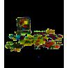 CLASH OF RAGE gioco da tavolo IN ITALIANO supernova STRATEGICO impero di smeraldo ESAGONALE età 14+